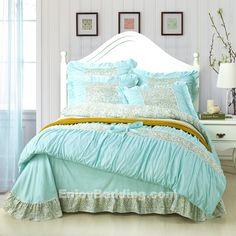 Tiffany Blue Comforter Set | Manor Tiffany Blue Bedding Sets - www.EnjoyBedding.com | bedding set