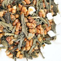 GenMaiCha: Japanese Green Tea (Bancha) with toasted rice.