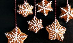 Lebkuchen-Sterne - Rezepte - Schweizer Milch Biscuits, Cookies, Christmas Ornaments, Holiday Decor, Recipes, Kitchens, Ideas For Christmas, Milk, Sugar