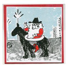 封筒付 クリスマスカード - レトロ印刷JAM オンラインお店