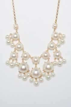 Parisa Pearl Necklace / ShopSosie #pearl #beads #shopsosie