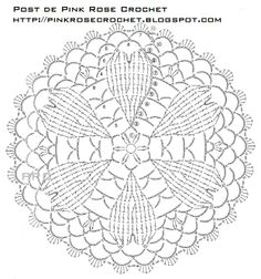 ISSUU - Small crochet lace by vlinderieke Irish Crochet Patterns, Crochet Diagram, Crochet Stitches Patterns, Crochet Chart, Filet Crochet, Crochet Designs, Crochet Dollies, Crochet Diy, Crochet Round