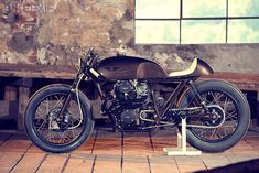 Honda CB cafe racer - almost perfect. Truly a great bike.