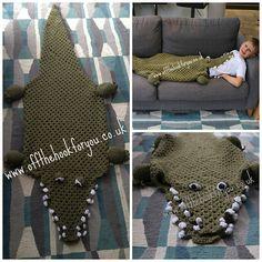 Ravelry: Eaten by an Alligator (Crocodile) pattern by Vicki Roberts