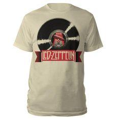 Check out Led Zeppelin Mothership LP Cream T-Shirt on @Merchbar.
