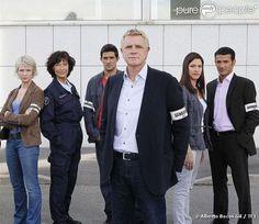 L'équipe de Section de Recherches, série de TF1