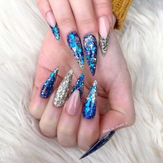 Best Stiletto Nails Designs, Ideas and Tips For You Sexy Nails, Fancy Nails, Stiletto Nails, Nails On Fleek, Cute Nails, Pretty Nails, Simple Nail Designs, Beautiful Nail Designs, Cute Acrylic Nails