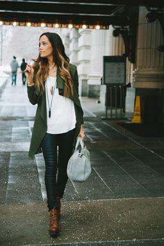 Le veste militaire femme - tenue chic