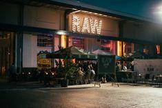 RAW Restaurant Cafe Spoorzone 013 Straatjes Tilburg