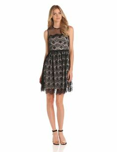 Lace Dress -  Pin It :-) CLICK IMAGE TWICE for Pricing and Info .. SEE A LARGER SELECTION of lace dresses at http://azdresses.com/category/dress-categories/dresses-by-type/lace-dress/ - women, womens fashion,dress,womens dresses, holiday fashion  -   Maggy London Women's Sleeveless Lace Dress « AZdresses.com