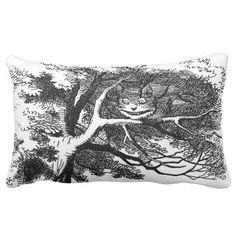 The Cheshire Cat Pillow