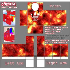 9 Best ROBLOX templates images | Roblox, Roblox shirt ...
