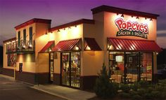 Popeyes | 39 Fast-Food Restaurants Definitively Ranked From Grossest To Least Gross