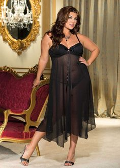 56d2b36542b Plus Size Lingerie - Sexy Lingerie for Curvy Women