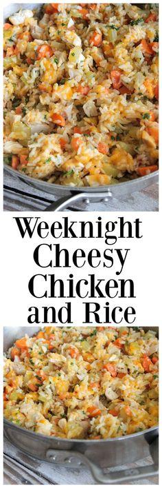 Weeknight Cheesy Chi