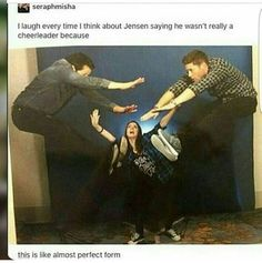 Jensen cheerleader