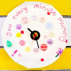 Could be cute, but I would make the clock more realistic and clean it up a bit.