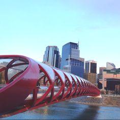 Peace Bridge 2012 Calgary Canada.