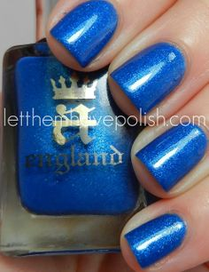 a England — Order of the Garter (The Legend Collection Order Of The Garter, Hair And Nails, Swatch, Makeup Looks, Nail Designs, Hair Beauty, Nail Polish, England, Nail Art