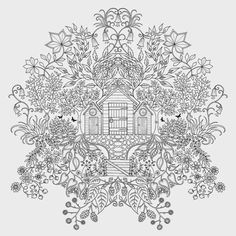 Secret Garden By Johanna Basford Published Laurence King Coloring For Adults