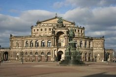 Semper Opera - Dresden, Germany - Gottfried Semper, Architect - Germany Fine Art Print - Christiane Schulze