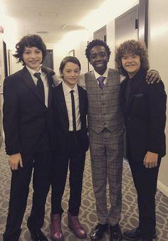 the boys at the critics choice awards!
