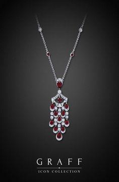 GABRIELLE'S AMAZING FANTASY CLOSET | Graff Diamonds: Graff Iconic Ruby & Diamond Pendant |