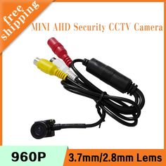 25.00$  Watch now - http://alikq6.shopchina.info/1/go.php?t=32800611887 - 1.3m 960P CMOS 2.8mm/3.7mm lens Indoor Mini Infrared Black AHD Security CCTV Camera  #bestbuy