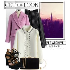 Stylishly Chic... by glamorous09 on Polyvore featuring Chicwish, Aquazzura…