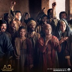 #SpreadTheWord, the apostles' numbers grew on Sunday's episode of A.D. The Bible Continues! | A.D. The Series