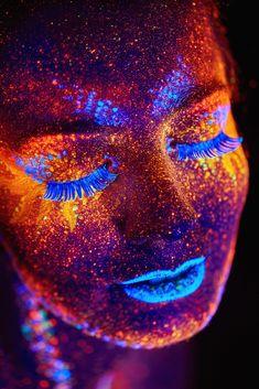 UV close up portrait by Pavel Reband on 500px