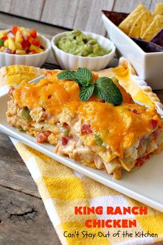 King Ranch Chicken – Can't Stay Out of the Kitchen Ranch Pasta, Retro Recipes, Mexican Food Recipes, Recipe Using Cream Of Mushroom, King Ranch Chicken Casserole, Broccoli, Slow Cooker, Bbq, Cream Of Chicken Soup