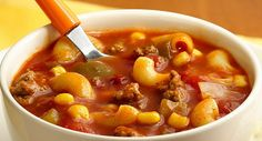 Chili Mac Soup Recipe by Betty Crocker Recipes, via Flickr