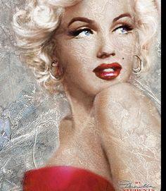 Pop Art Marilyn Monroe, Marilyn Monroe Wallpaper, Marilyn Monroe Painting, Marilyn Monroe Portrait, Marilyn Monroe Quotes, Pin Up, Norma Jeane, Arte Pop, Belle Photo
