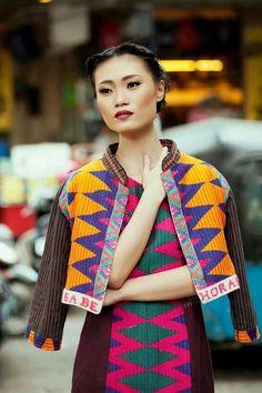 Batik Fashion, Ethnic Fashion, Cute Fashion, Boho Fashion, High Fashion, Batik Blazer, Blouse Batik, Batik Dress, Traditional Fashion