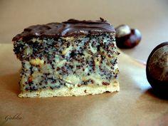 Lubię...: Ciasto z makiem i jabłkami. Wilgotny makowiec. Sweet Recipes, Cake Recipes, Dessert Recipes, Sweets Cake, Cupcake Cakes, Sandwich Cake, Breakfast Menu, Bread Cake, Polish Recipes