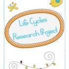 Students will love this fun research project focusing on plant and animal life cycles. Students will work cooperatively to create a presentation co...