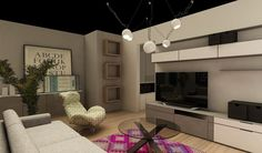 vanzari garsoniere bucuresti New City, The Unit, Living Room, Interior Design, Furniture, Cartier, Home Decor, Nest Design, Decoration Home