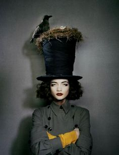 londonwarrior:  Bird's nest couture