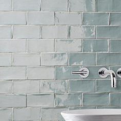 Merola Tile Chester Acqua 3 in. x 6 in. Ceramic Wall Tile (1 sq. ft. / pack)-WNU36CAC - The Home Depot