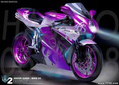 Purple Motorcycle   purple mv agusta f4 retrosbk motorcycle