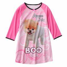 Boo The World's Cutest Dog Nightgown - Girls