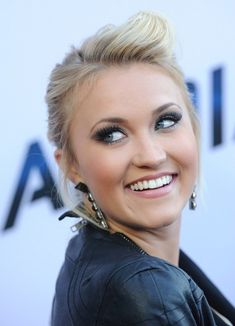 Emily Osment's Feathery Lashes