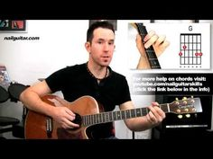▶ Guitar Lessons 'Knockin On Heavens' Door by Bob Dylan Easy Beginners How To Play Acoustic Tutorial - YouTube