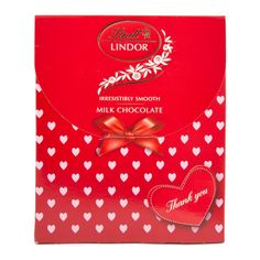 Lindt Lindor Milk Chocolate - one can never have enough chocolate. What better way to say thanks mom.