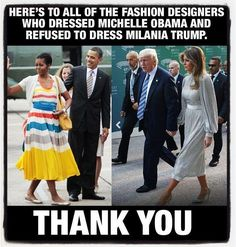 Milania Trump looks great as a first lady. Michelle Obama could never come close to look as good. << Michelle Obama was a better First Lady, more beautiful, and a greater person in general. If anything, Milania does not come close to her. Thats The Way, That Way, First Lady Melania Trump, Trump Melania, Our President, God Bless America, Michelle Obama, In This World, Awakening