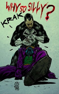 Punisher kills joker. This would be an awesome cross-over event. Can we get this happening?