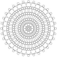 Mandala-Ausmalbild Nr. 38