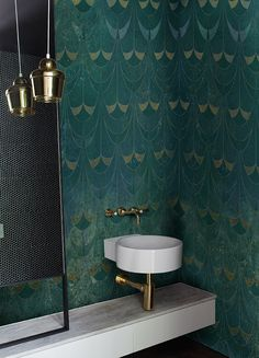 Le Vitrail  #wallpaper #wallcovering #wetsystem