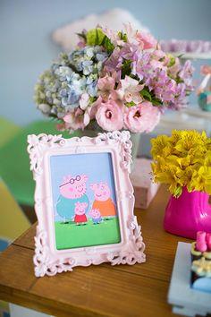 Pig Birthday, 4th Birthday Parties, Birthday Party Decorations, Pig Balloon, Cumple Peppa Pig, Peppa Pig Teddy, Pig Party, Party Time, Birthdays